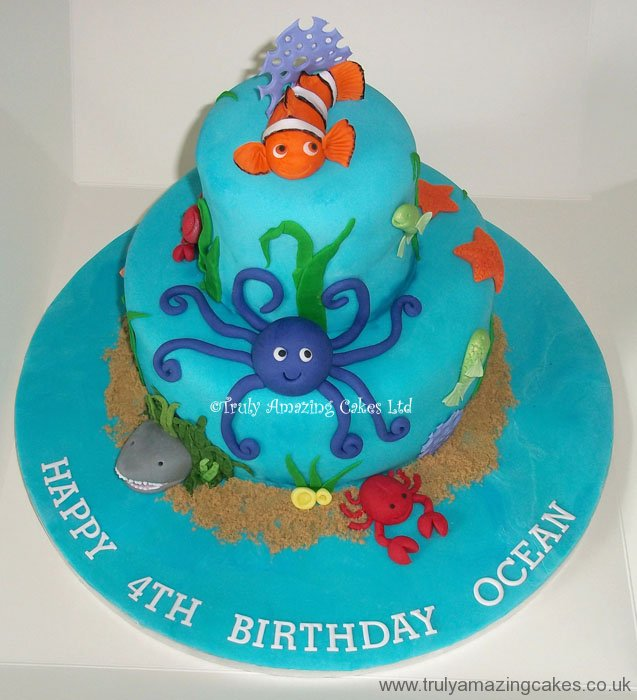 Pin Clown Fish Nemo Sprinkle Pop Cake Cake on Pinterest