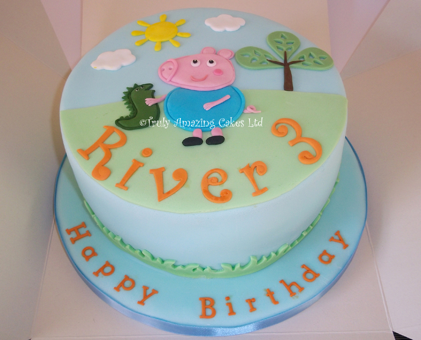 Cake Images Birthday Boy : george_pig_cake2