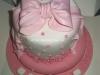 pink_bow_christening_cake
