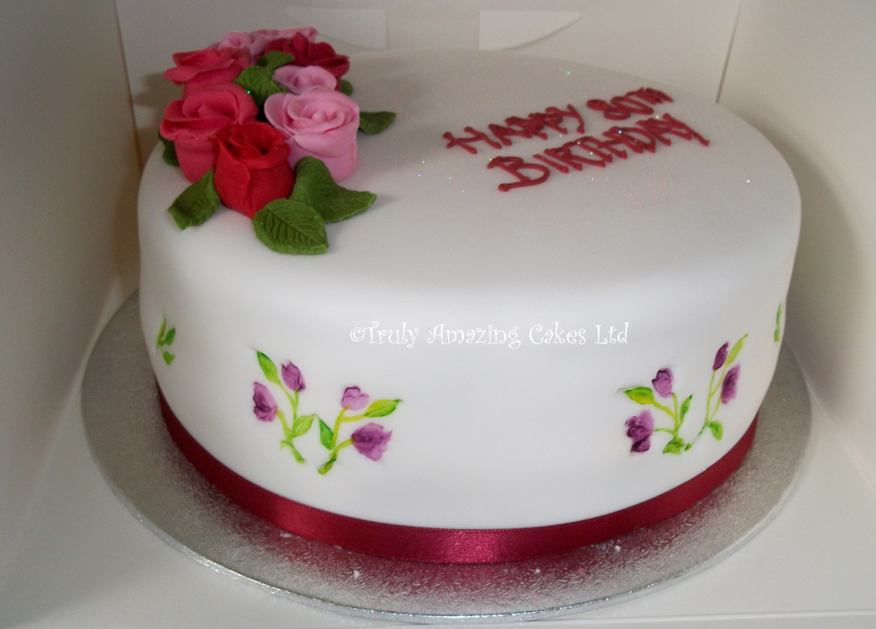 Birthday Cake Designs For A Lady : Truly Amazing Cakes - Ladies  birthday cakes