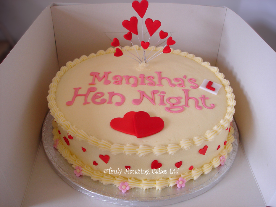 Hen Party Cakes Uk