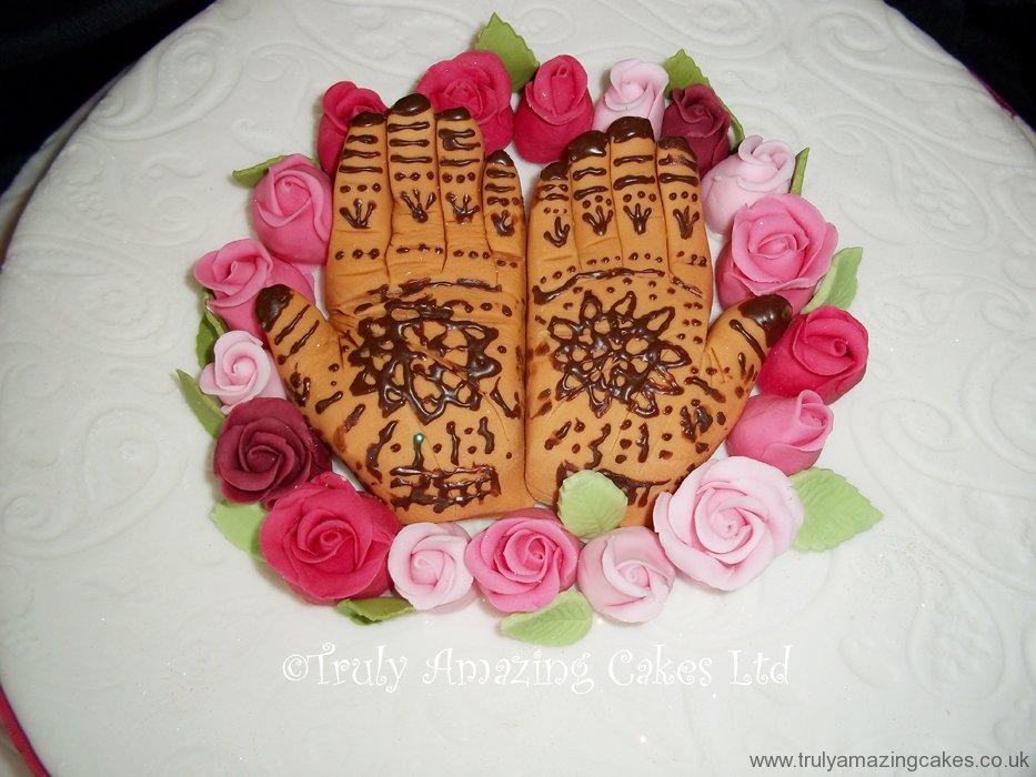 Mehndi Cake Uk : Truly amazing cakes wedding