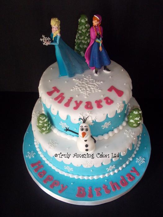 Truly Amazing Cakes Girls Birthday Cakes